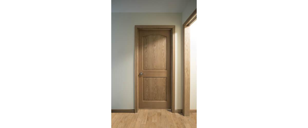 2 Panel Arch Oak Interior Door