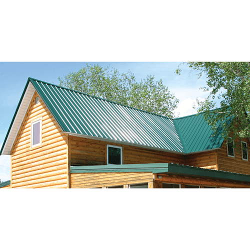 Emerald Green Premium Pro Rib Residential Steel Roofing