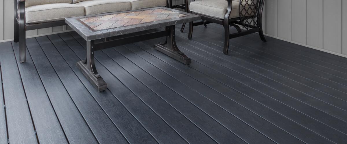 Deck Resurfaced In Ultradeck Quickcap Cedar Colored